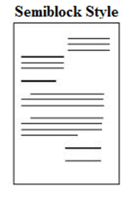 Proper way to write a business letter format